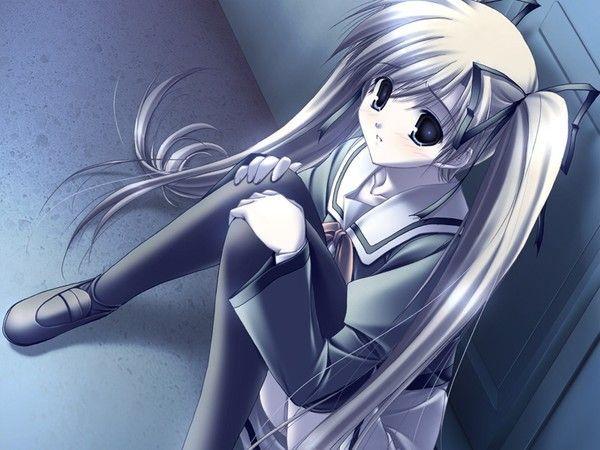Triste - Image manga fille triste ...