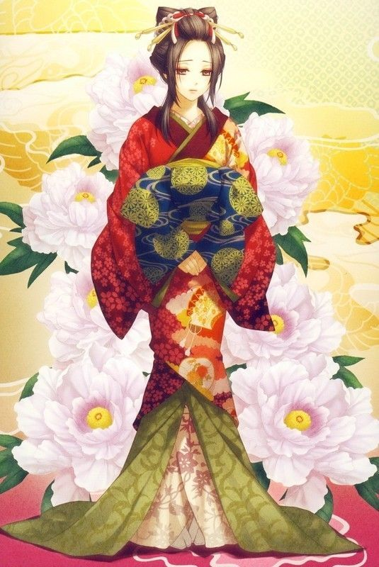 Kimono, habit traditionnel...