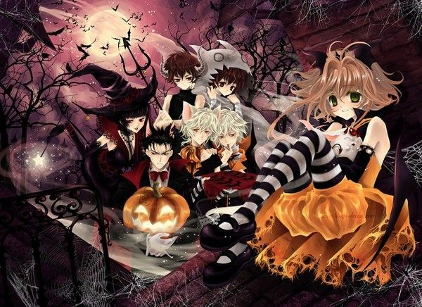 """Résultat de recherche d'images pour """"image mangas joyeux halloween"""""""