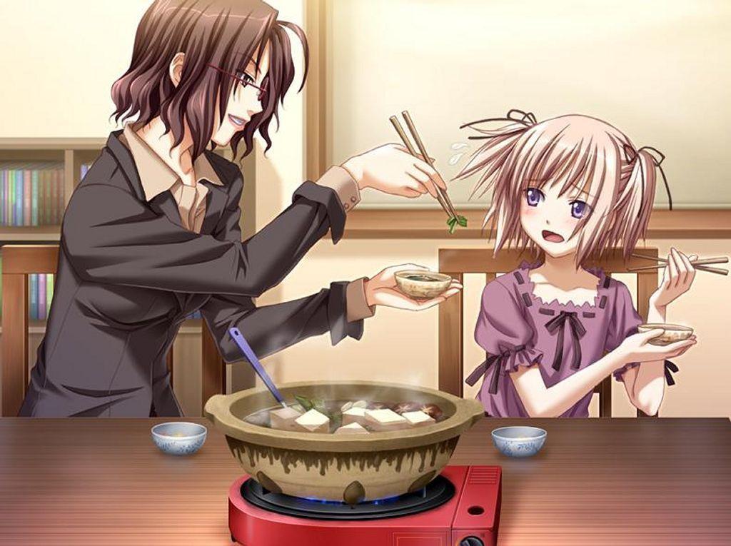Cuisine manga for Cuisine fille